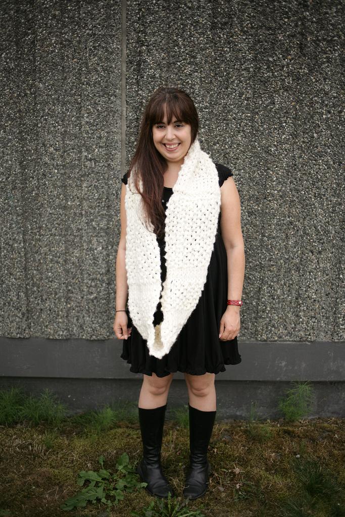 Knitwear fashion shoot