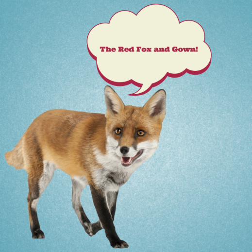 The Red Fox and Gown on Pinterest!